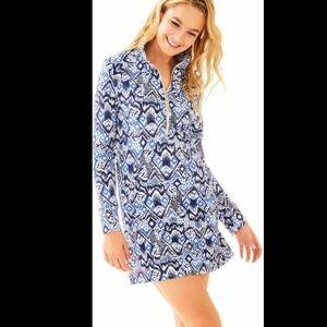 NWT Lilly Pulitzer Skipper Dress XS Beckon Blue